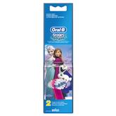 Lisaharjad laste hambaharjale Braun Frozen 2 tk
