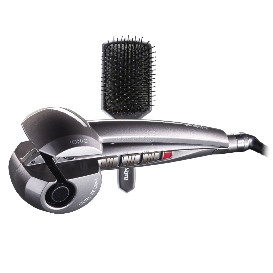 curling iron curl secret ionic hair brush babyliss p0986e. Black Bedroom Furniture Sets. Home Design Ideas