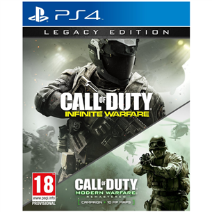 PS4 mäng Call of Duty: Infinite Warfare Legacy Edition 5030917197253