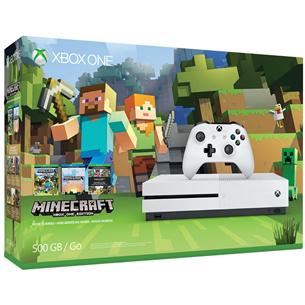 Mängukonsool Microsoft Xbox One S Minecraft Favourites Bundle (500 GB)