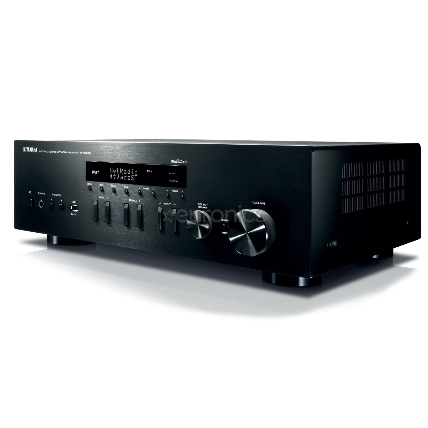 stereo receiver yamaha r n402d r n402d. Black Bedroom Furniture Sets. Home Design Ideas