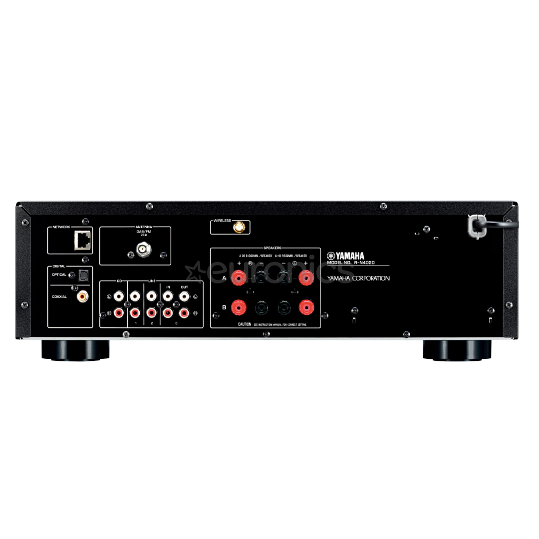 stereo receiver yamaha r n402d r n402d. Black Bedroom Furniture Sets. Home Design Ideas