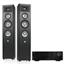 Stereo helisüsteem JBL Studio 280 + Harman/Kardon HK 3770