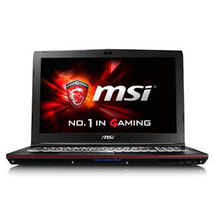 Sülearvuti MSI GP62 6QF Leopard Pro