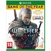 Xbox One game Witcher 3 Game of the Year Edition