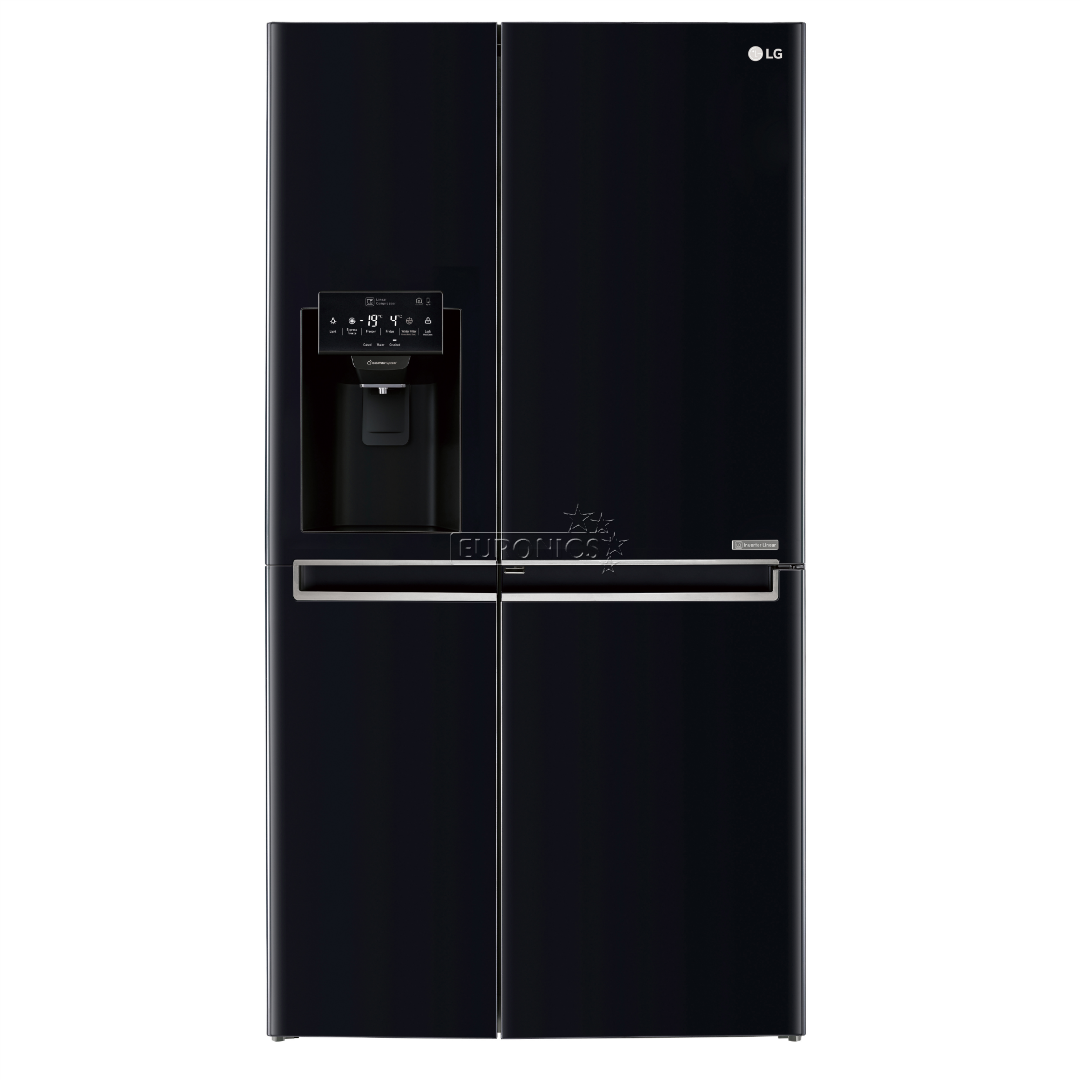 Side-by-Side refrigerator, LG / height: 179 cm, GSJ760WBXV.AWBQEUR