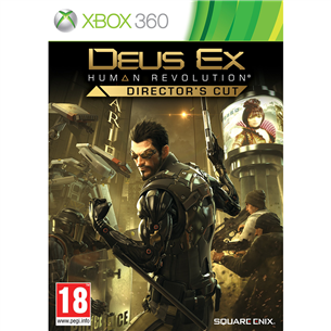 Xbox360 mäng Deus Ex: Human Revolution - Director´s Cut