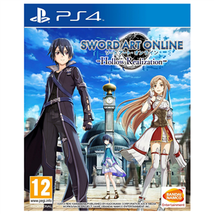 PS4 mäng Sword Art Online: Hollow Realization