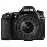 DSLR camera Canon EOS 80D + EF-S 18-135mm f/3.5-5.6 IS USM lens
