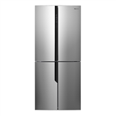 Refrigerator Side-by-Side NoFrost, Hisense / height 181 cm