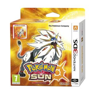 3DS mäng Pokemon Sun Fan Edition
