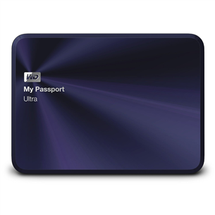 Väline kõvaketas Western Digital My Passport Ultra Metal Edition / 3 TB