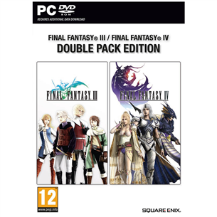 Arvutimäng Final Fantasy III + IV