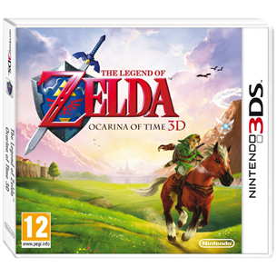 3DS mäng The Legend of Zelda: Ocarina of Time
