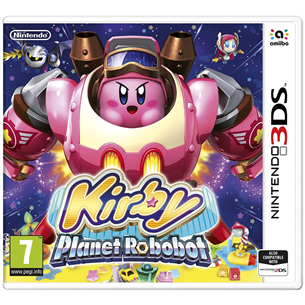 3DS mäng Kirby: Planet Robobot