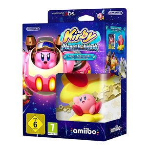 3DS mäng Kirby: Planet Robobot + amiibo
