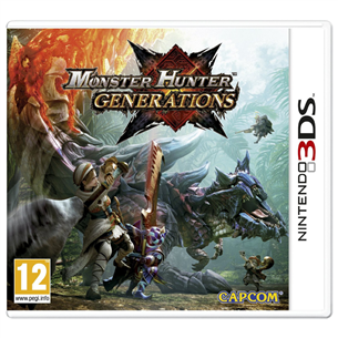 3DS mäng Monster Hunter Generations