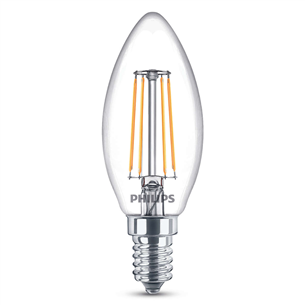 LED-свеча Philips / E14, 40Вт, 470 лм