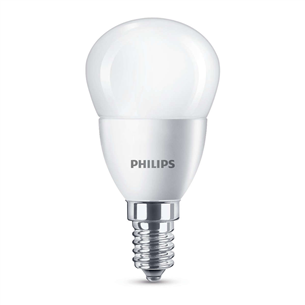 LED pirn Philips (E14, 40W, 470 lm)