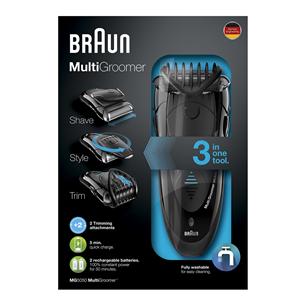 Habemetrimmer Braun + Gillette Fusion raseerija