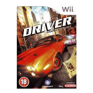WiiU mäng Driver Parallel Lines