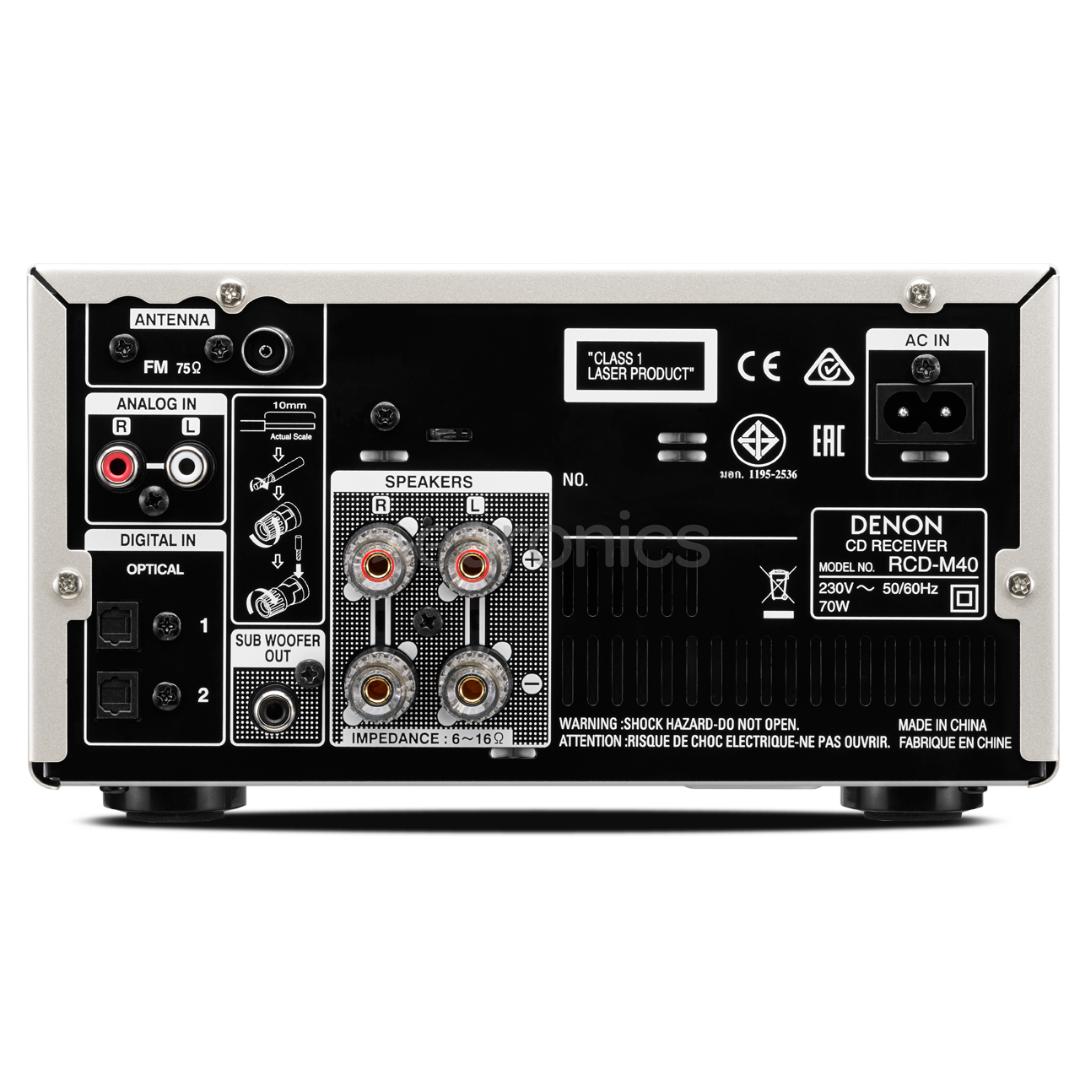 Cd Player Denon Rcd M40 Rcdm40s 70w Fm Amplifier