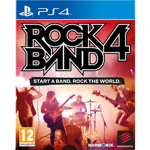 PS4 mäng Rock Band 4