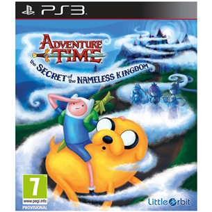 PS3 mäng Adventure Time: The Secret of Nameless Kingdom
