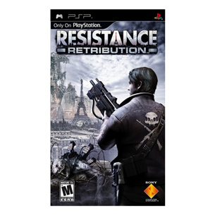 PSP mäng Resistance: Retribution