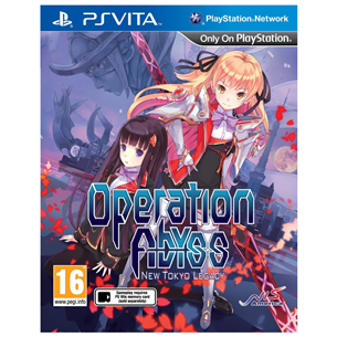 PS Vita mäng Operation Abyss: New Tokyo Legacy