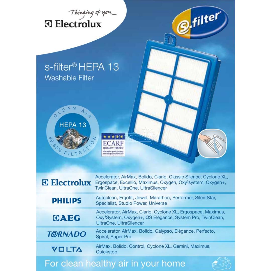 Attraktiva Hepa 13 filter Electrolux, EFS1W JJ-17