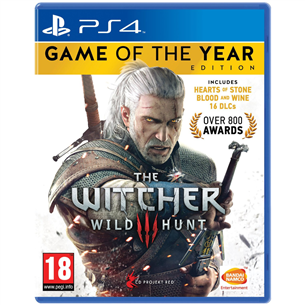 PS4 game Witcher 3 Game of the Year Edition 3391891989886