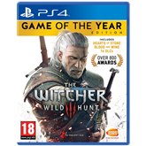 PS4 game Witcher 3 Game of the Year Edition
