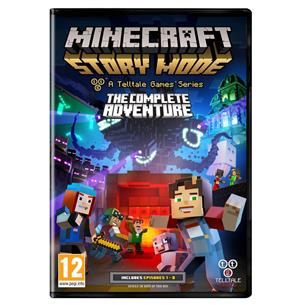 Arvutimäng Minecraft: Story Mode Complete Adventure