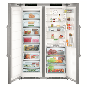 SBS külmik Premium, Liebherr  / kõrgus: 185cm