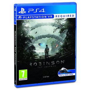 PS4 VR mäng Robinson: The Journey
