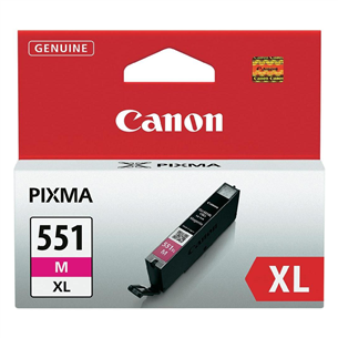 Tindikassett Canon CLI-551XLM (magenta)
