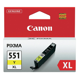 Tindikassett Canon CLI-551XLY (kollane)
