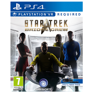 PS4 VR mäng Star Trek: Bridge Crew