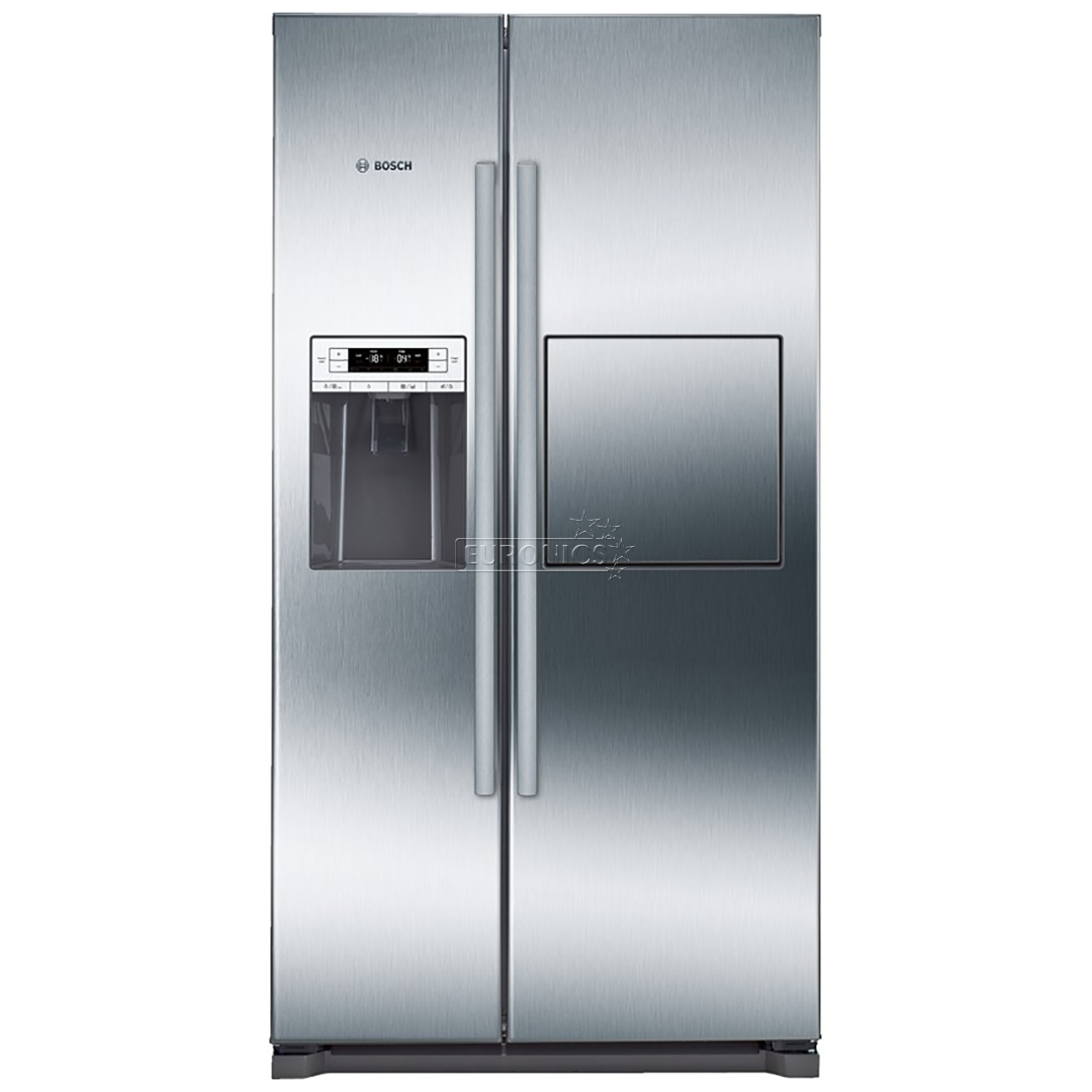 Side By Side Refrigerator Nofrost Bosch Height 177 Cm Kag90ai20