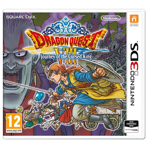 3DS mäng Dragon Quest VIII: Journey of the Cursed King