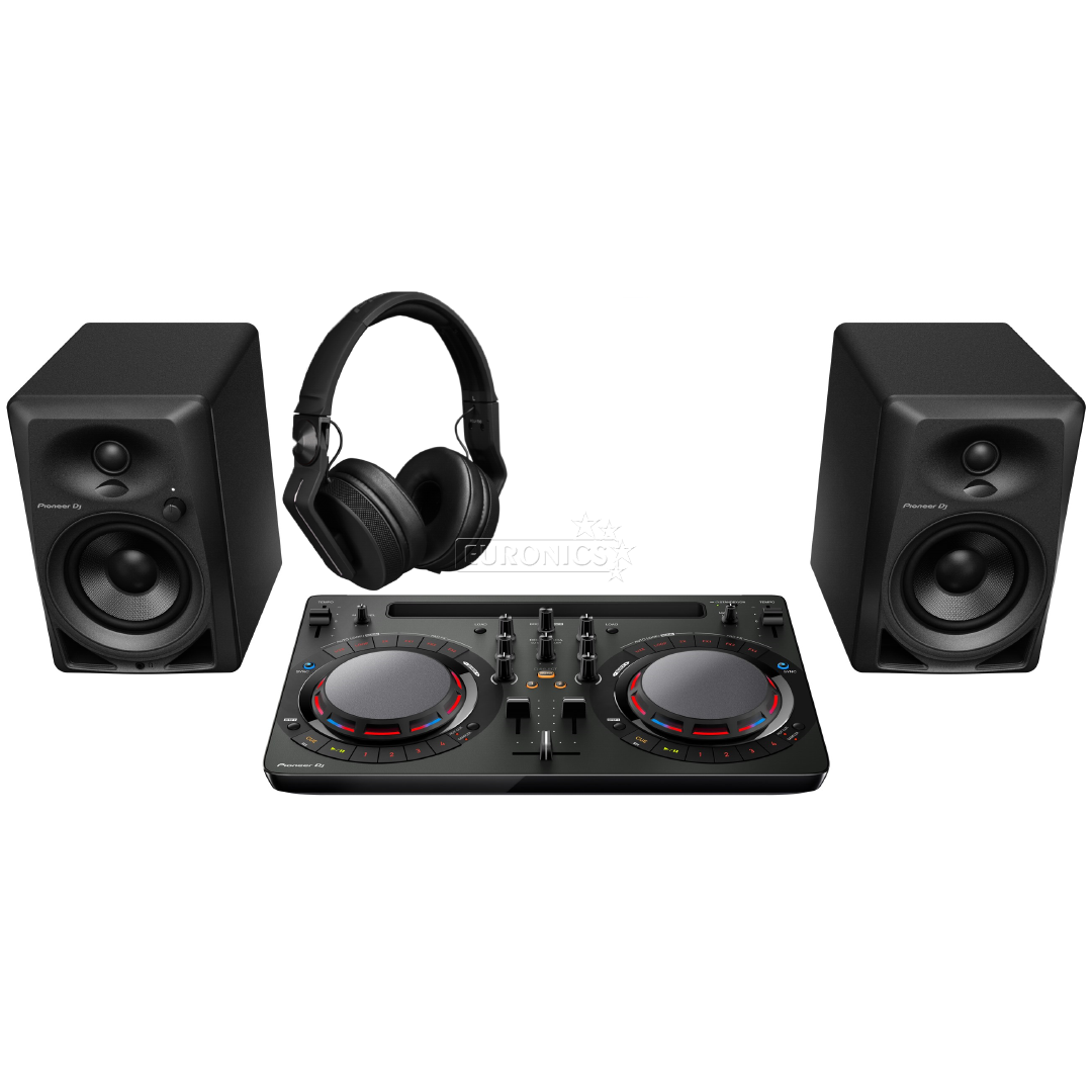 dj starter pack pioneer dj starter pck. Black Bedroom Furniture Sets. Home Design Ideas