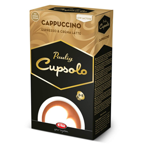 Kohvikapslid Cupsolo Cappuccino, Paulig