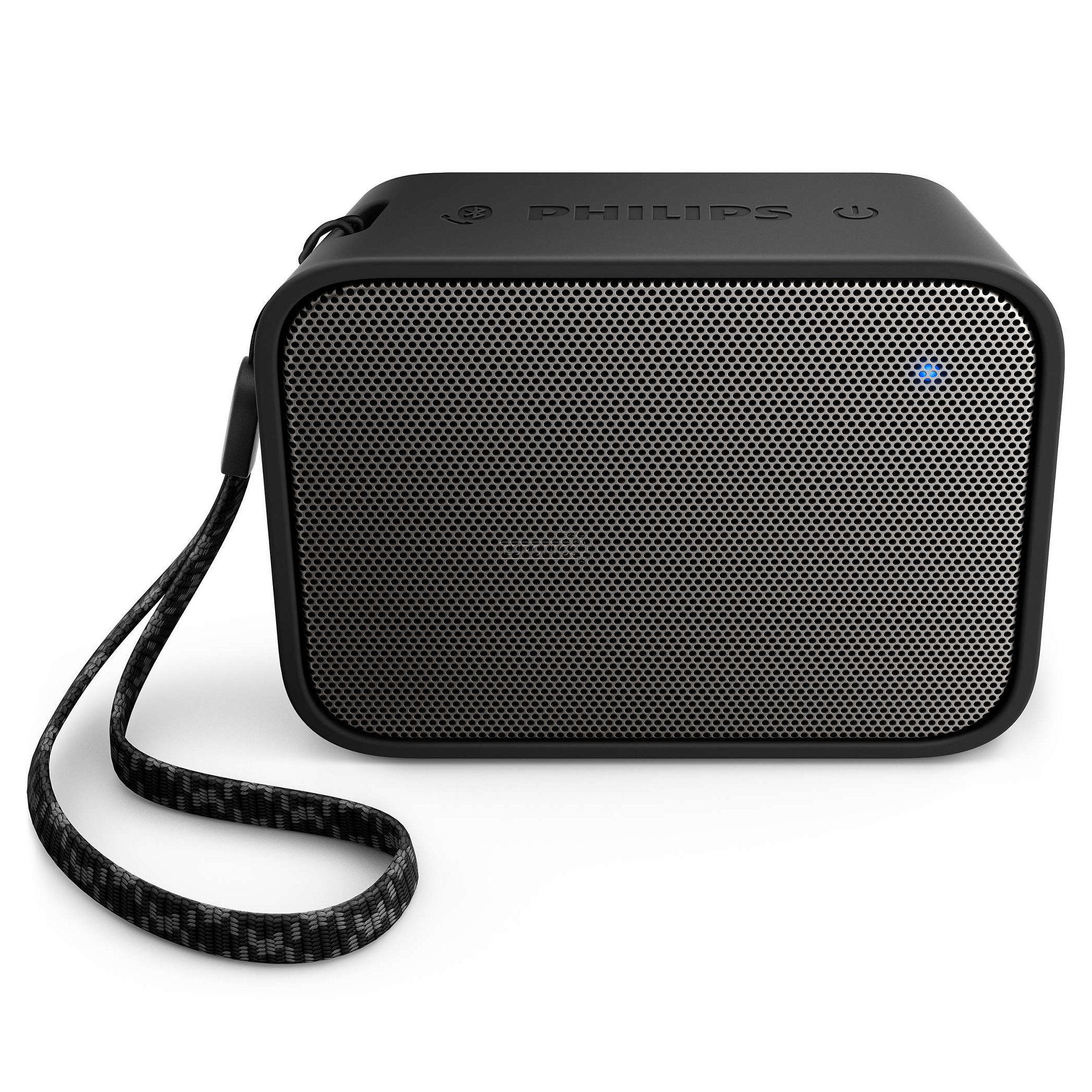 Portable wireless speaker philips bt110 bt110b 00 for Porta wireless