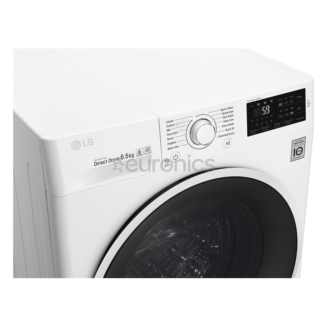 d59382f0c51 Washing machine LG (6,5kg), F2J6WN0W, F2J6WN1W