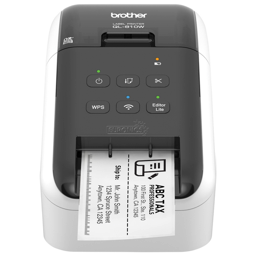 Label Printer Brother Ql 810w Wifi Ql810wzw1