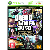 Xbox 360 mäng Grand Theft Auto Episodes from Liberty City