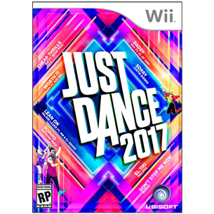 Wii mäng Just Dance 2017