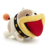 Yarn Poochy amiibo Yoshis Woolly World Collection