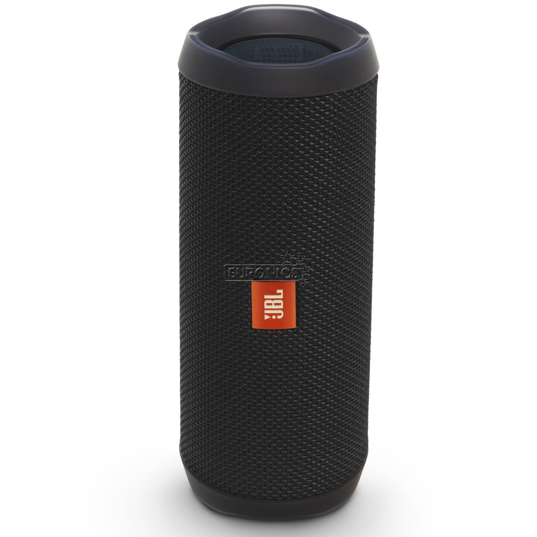 wireless portable speaker jbl flip 4 jblflip4blk. Black Bedroom Furniture Sets. Home Design Ideas
